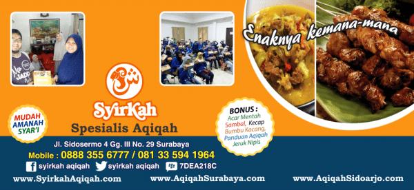Spesialis Aqiqah Surabaya Gresik Sidoarjo Bangkalan